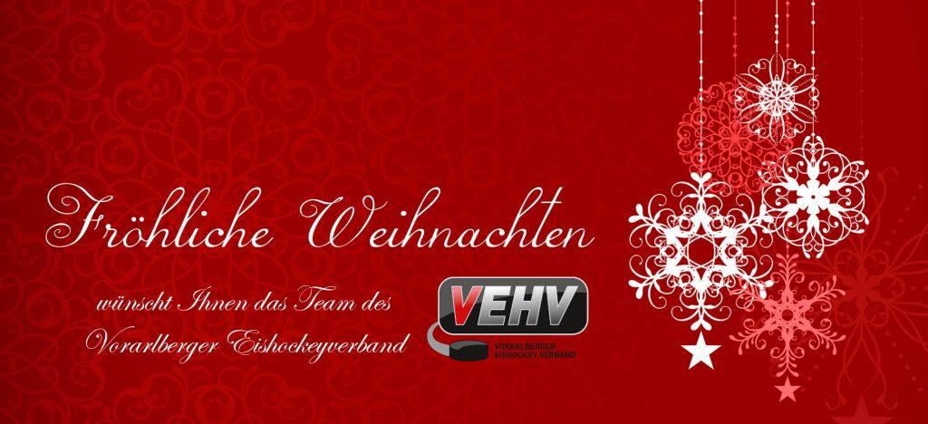 Das Weihnachten.Frohe Weihnachten Vorarlberger Eishockeyverband